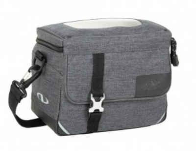 NORCO Gepäckträgertasche »Lenkertasche Norco Glenbar tweed grey, 23x17x15cm,«
