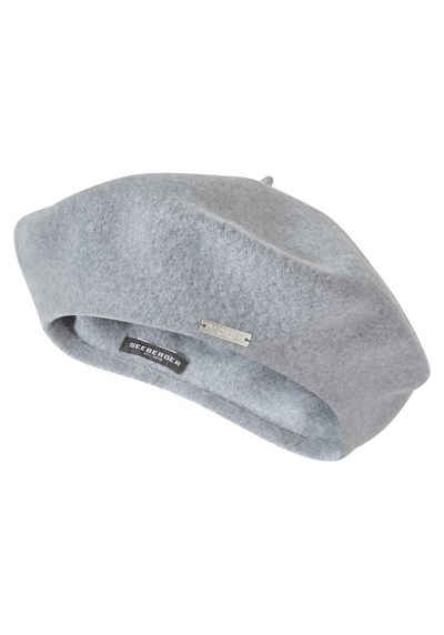 Seeberger Baskenmütze Softe und leichte Schurwolle