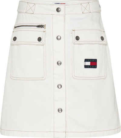 Tommy Jeans Cargorock »Utility Twill Skirt AE795 Swr« im Cargo-Style mit Tommy Jeans Logo-Badge