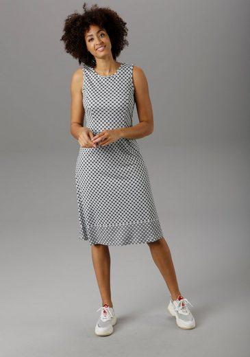 Aniston SELECTED Sommerkleid mit modischer Bordüre