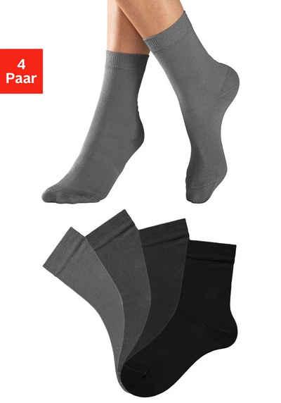 Lavana Socken (4-Paar) in unterschiedlichen Farbzusammenstellungen