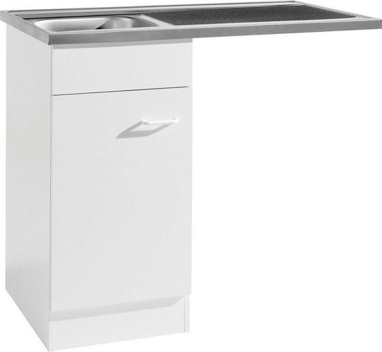 HELD MÖBEL Spülenschrank »Elster« Spülzentrum für Unterbau-Geschirrspüler, ohne Front B/H/T: ca. 100/60/85 cm