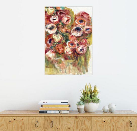 Posterlounge Wandbild, Premium-Poster Blumen in einem Gewächshaus