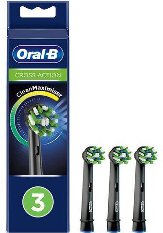 Oral B Aufsteckbürsten »Cross Action BLACK Cl...