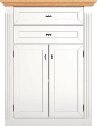 WEHRSDORFER Highboard »Maisonette«, mit 2 Schubkästen und 2 Türen, Breite 91 cm