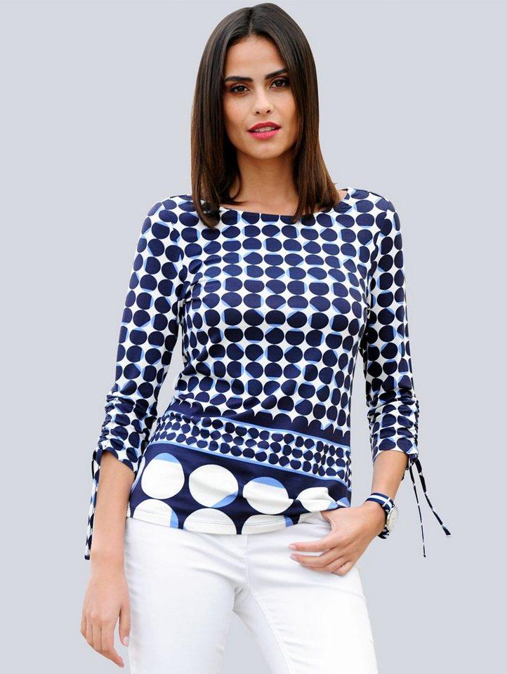alba moda -  Shirt mit U-Boot Ausschnitt