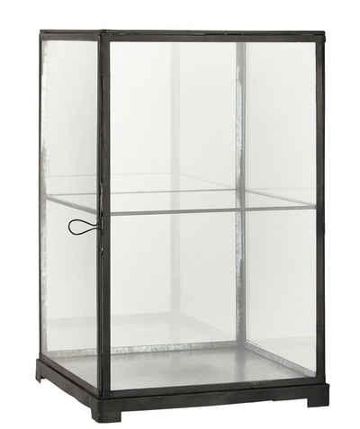 Ib Laursen Wandregal »Glasschrank Glasvitrine Vitrine Regal Schränkchen Glas Metall Laursen 0871-25«