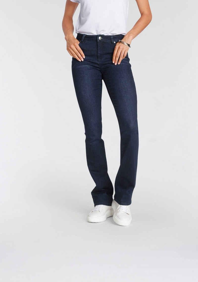 Tamaris Bootcut-Jeans im Five-Pocket-Style - NEUE KOLLEKTION