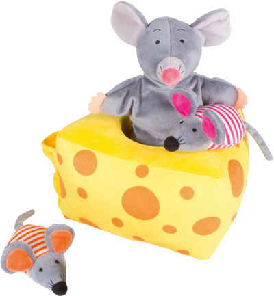 beleduc Handpuppe »Mila Mouse und Freunde - Storyhandpuppe« (Set, 4-tlg)