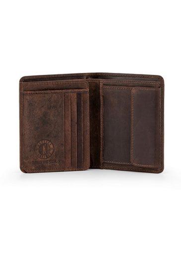 Klondike 1896 Geldbörse »Cade«  mit Klappe