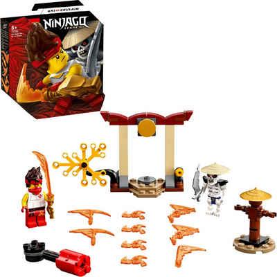 LEGO® Konstruktionsspielsteine »Battle Set: Kai vs. Skulkin (71730), LEGO® NINJAGO®«, (61 St), Made in Europe