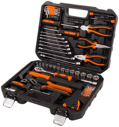 Profiwerk Werkzeugset, (148-St), befüllter Werkzeugkoffer