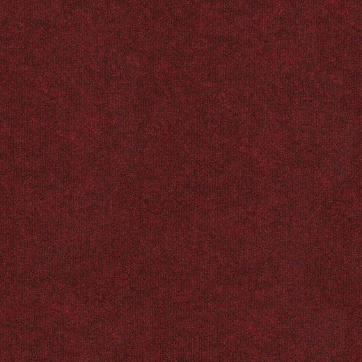 Teppichfliese »Madison«, quadratisch, Höhe 6 mm, rot, selbstliegend