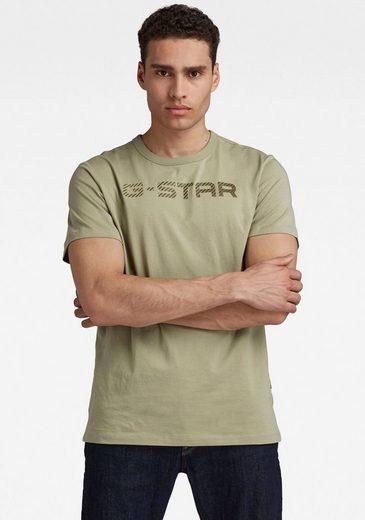 G-Star RAW Rundhalsshirt »G-STAR r t s\s«