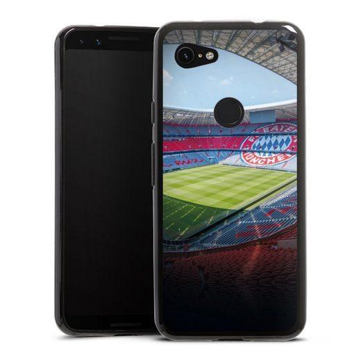 DeinDesign Handyhülle »Stadion FC Bayern - Color« Google Pixel 3a, Hülle Stadion FCB FC Bayern München