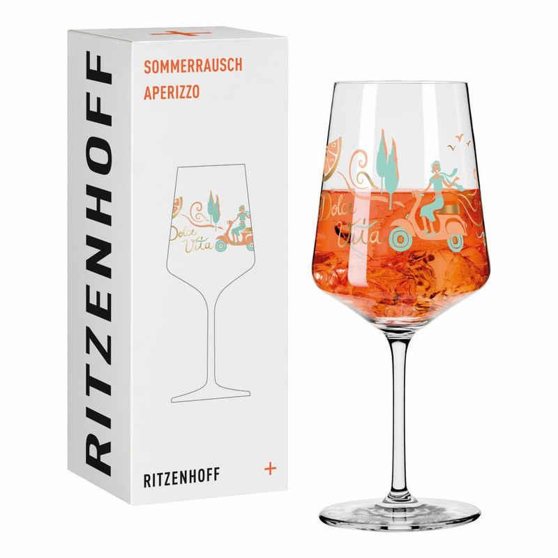 Ritzenhoff Aperitifglas »Sommerrausch Aperizzo 003«, Kristallglas, Made in Germany