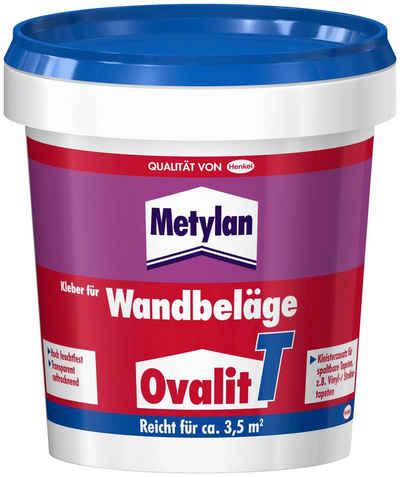 Metylan Tapetenkleber »Ovalit T«, (5-tlg), 5 x 750 g Eimer, für Textiltapeten, Metalltapeten