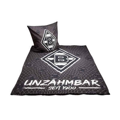 "Bettwäsche »Biber ""Unzähmbar""«, Borussia Mönchengladbach"