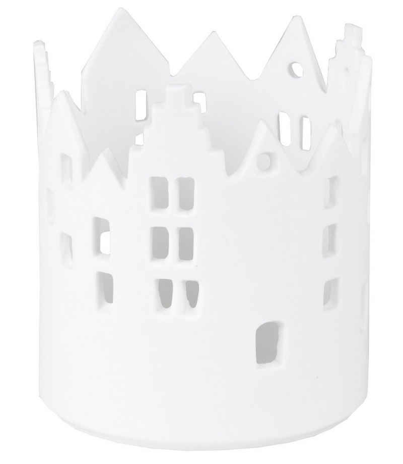Räder Design Teelichthalter »Stadtlicht Rathausplatz« (Einteilig, 1 Stück), Lichthaus für Teelichter