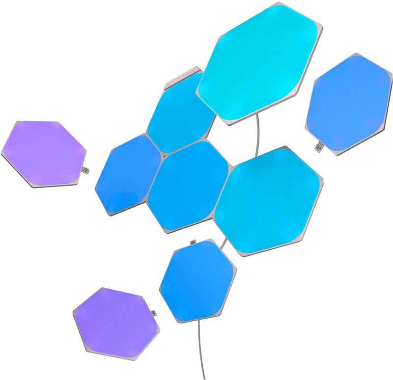 nanoleaf LED Panel »Nanoleaf Shapes Hexagons Starter Kit 9 PK«