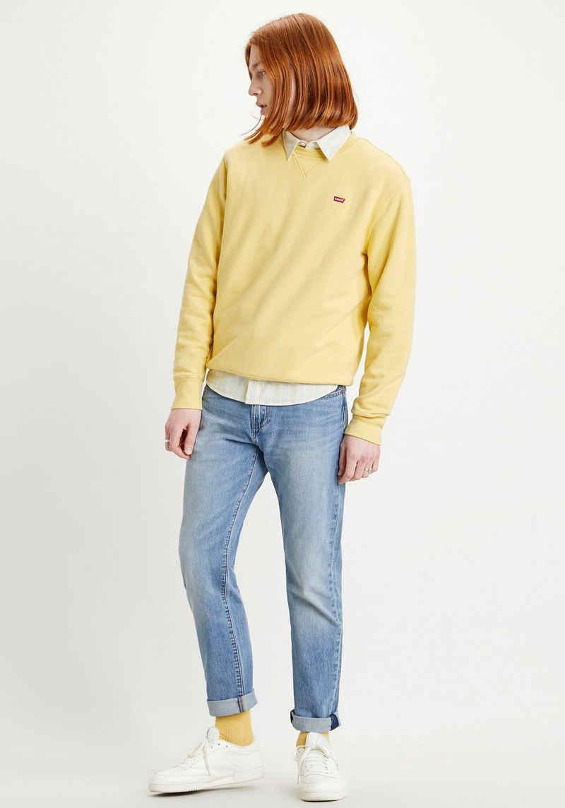 Levi's® Sweatshirt »LE NEW ORIGINAL CREW« mit kleinem Logo-Badge