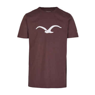 Cleptomanicx T-Shirt »Möwe - decadent chocolate«