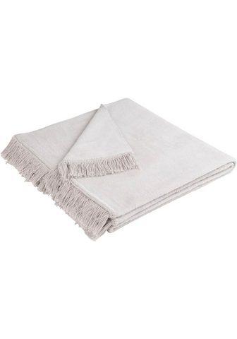 BIEDERLACK Sesselschoner »Cotton Cover« su Franse...