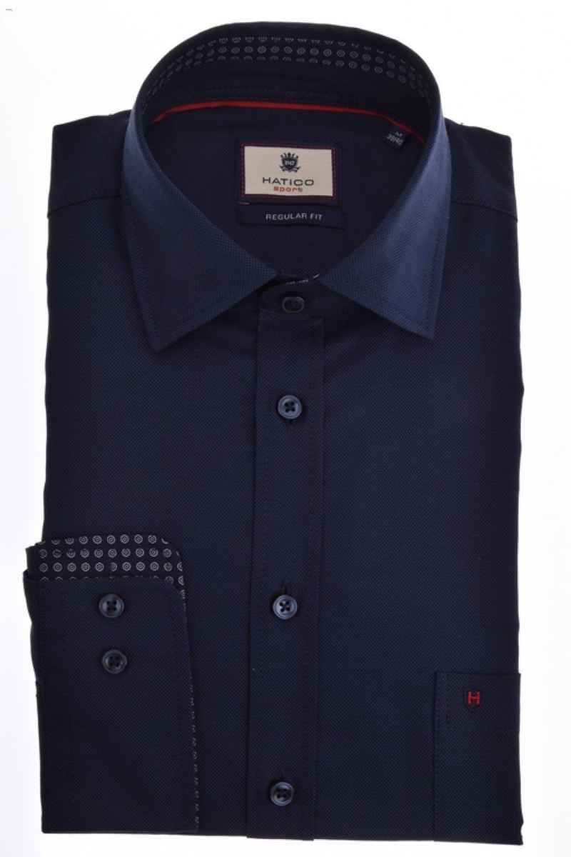 Hatico Langarmhemd »C82805-31125 130« Kentkragen Langarm