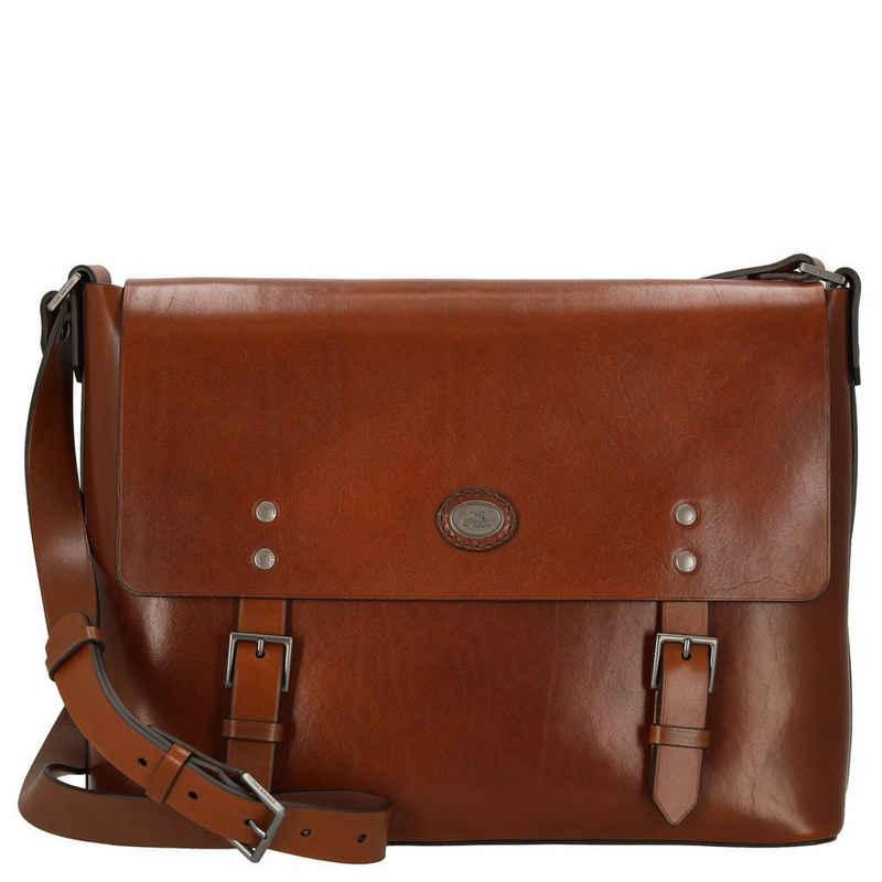 THE BRIDGE Laptoptasche »Lorenzo Messenger Bag 39 cm«