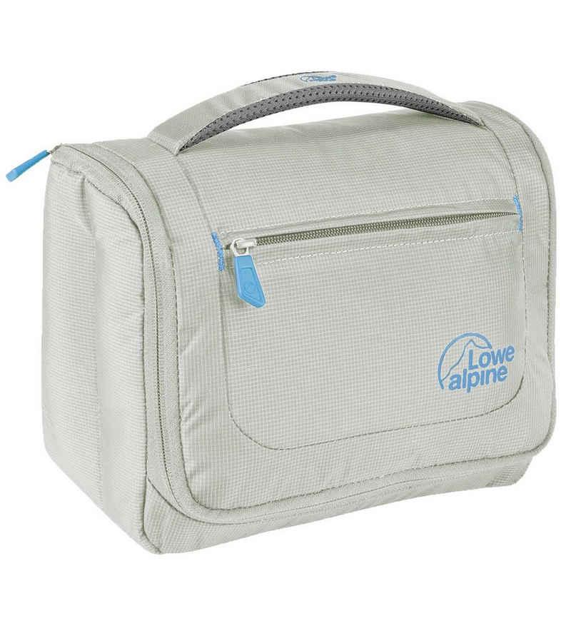 Lowe Alpine Laufgürtel »Lowe Alpine Wash Bag Kulturtasche hochpraktische Reise-Kulturtasche mit Spiegel, Haken und Innenfächern Reise-Tasche Grau«