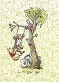 KOMAR Packung: Fototapete »Winnie Pooh in the wood«, aus Vlies, Bild 1