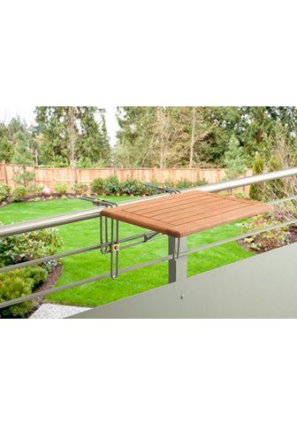 MERXX Pakabinamas balkono stalas »Holz« dėl ...
