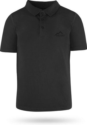normani Funktionsshirt »Herren Poloshirt Musselburgh« Funktions-Sport Sportswear Sporthemd mit Cooling-Material
