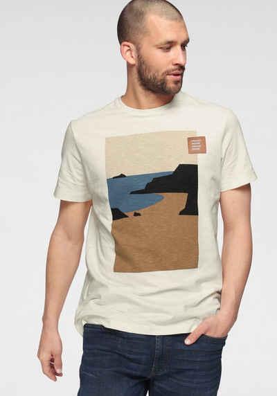 s.Oliver T-Shirt mit Motivprint