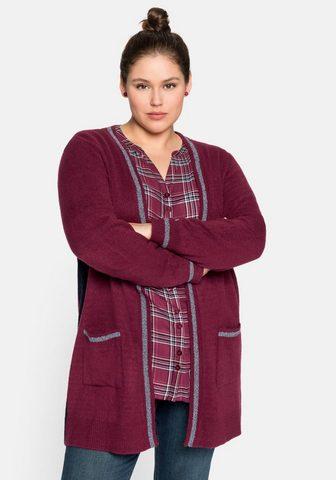 Sheego Ilgas megztinis iš Baumwoll-Mix