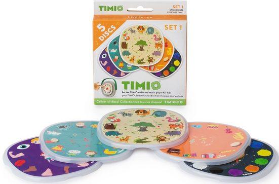 TIMIO Lernspielzeug »TIMIO Disc-Set 1«, magnetische Audio-Discs für den TIMIO Player