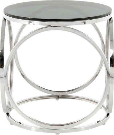 Kayoom Beistelltisch »Beistelltisch Whitney 125«, randlose Tischplatte