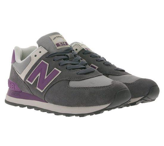 New Balance »New Balance 574 City-Sneaker modische Damen Turnschuhe mit Encap-Sohle Freizeit-Schuhe Grau« Sneaker