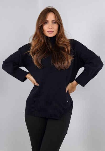 Please Jeans Rollkragenpullover »M 49774051D« Longform mit verlängerter Rückenpartie