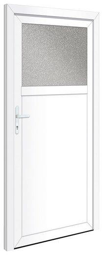 RORO TÜREN & FENSTER Nebeneingangstür »OTTO 21«, BxH: 88x198 cm, weiß, ohne Griffgarnitur