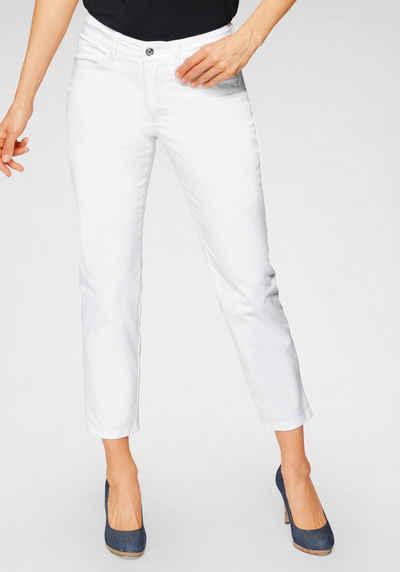 MAC 7/8-Jeans »Angela 7/8 cotton« Coole Destroyed-Effekte