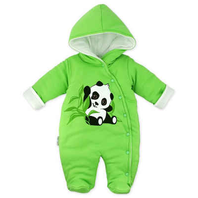 Baby Sweets Schneeoverall »Schneeanzug Happy Panda« (1-tlg)