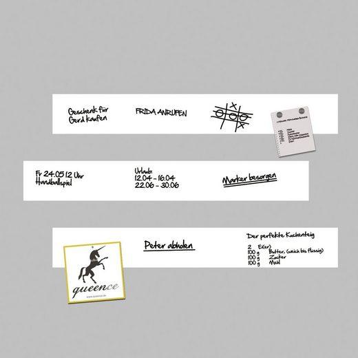 QUEENCE Set: Magnetfolie »Magnetische Markerfolie«, selbstklebend