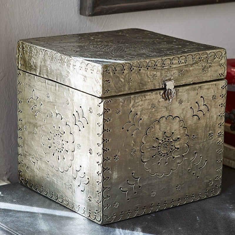 Mirabeau Dekokorb »Box Célya silber«