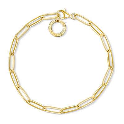 THOMAS SABO Armband »X0253-413-39 Charm-Armband Gelb-Gold 15,5 cm«
