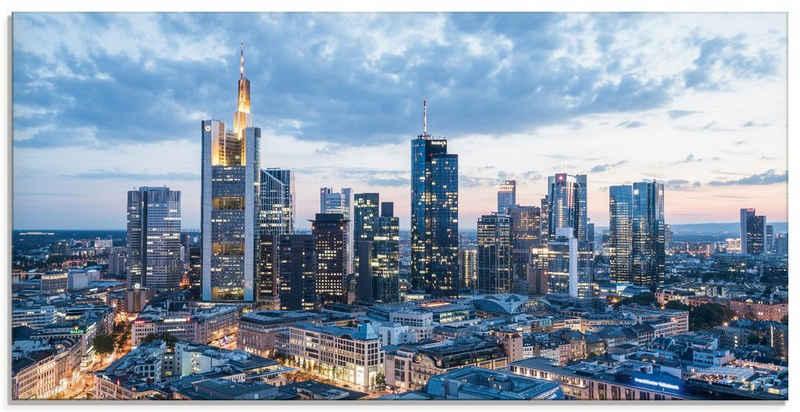Artland Glasbild »Frankfurt am Main Skyline I«, Deutschland (1 Stück)