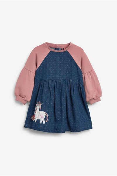 Next Jeanskleid »Denim-Raglan-Kleid« (1-tlg)