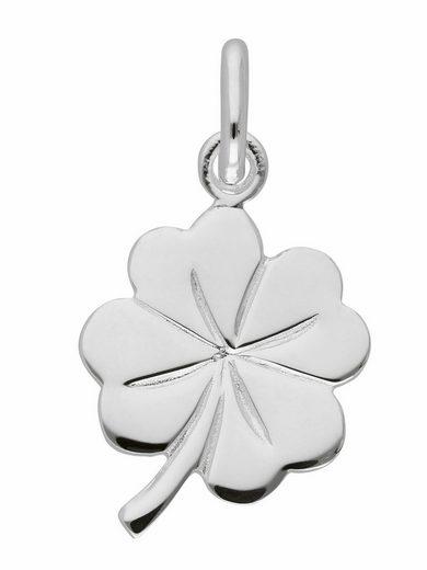 Adelia´s Kettenanhänger »925 Silber Anhänger Kleeblatt«, Silberschmuck für Damen