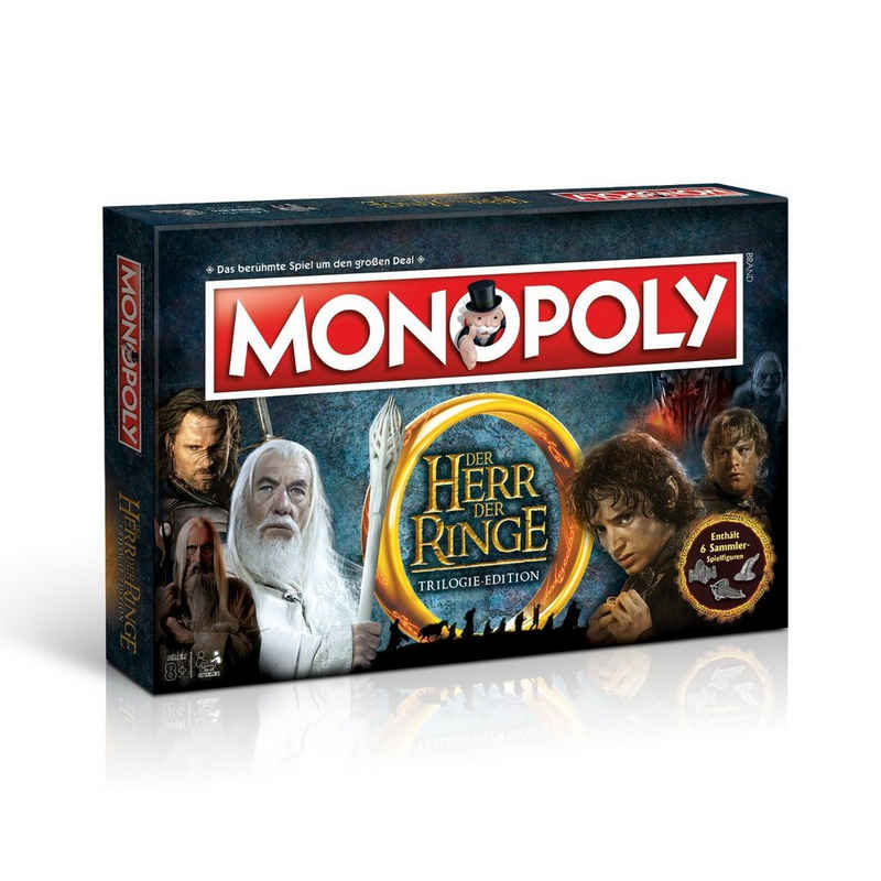 Winning Moves Spiel, Brettspiel »Monopoly Herr der Ringe«