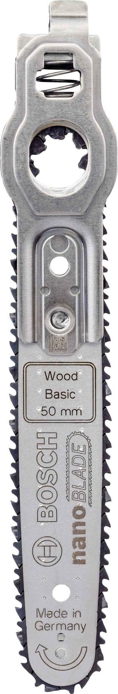 Bosch Professional Sägeblatt »nanoBLADE Wood Basic 50«